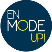 Logo Rond En Mode UP!